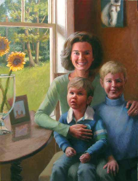 Portrait Painting, by Jeffrey Smith