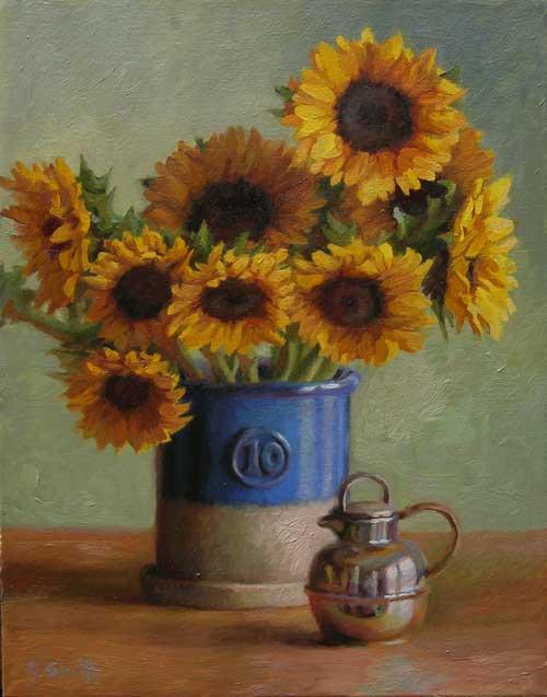 Sunflowers, Jeffrey Smith