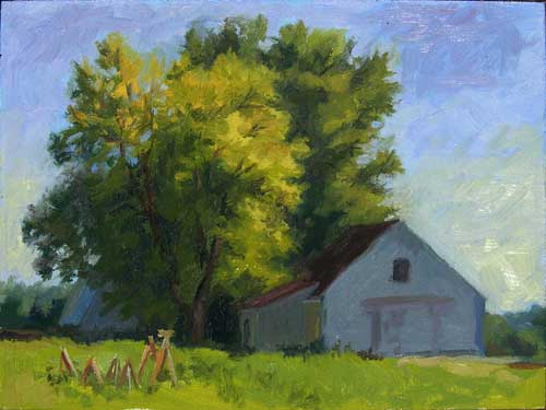Plein Air Plan | 5 tips for better outdoor painting