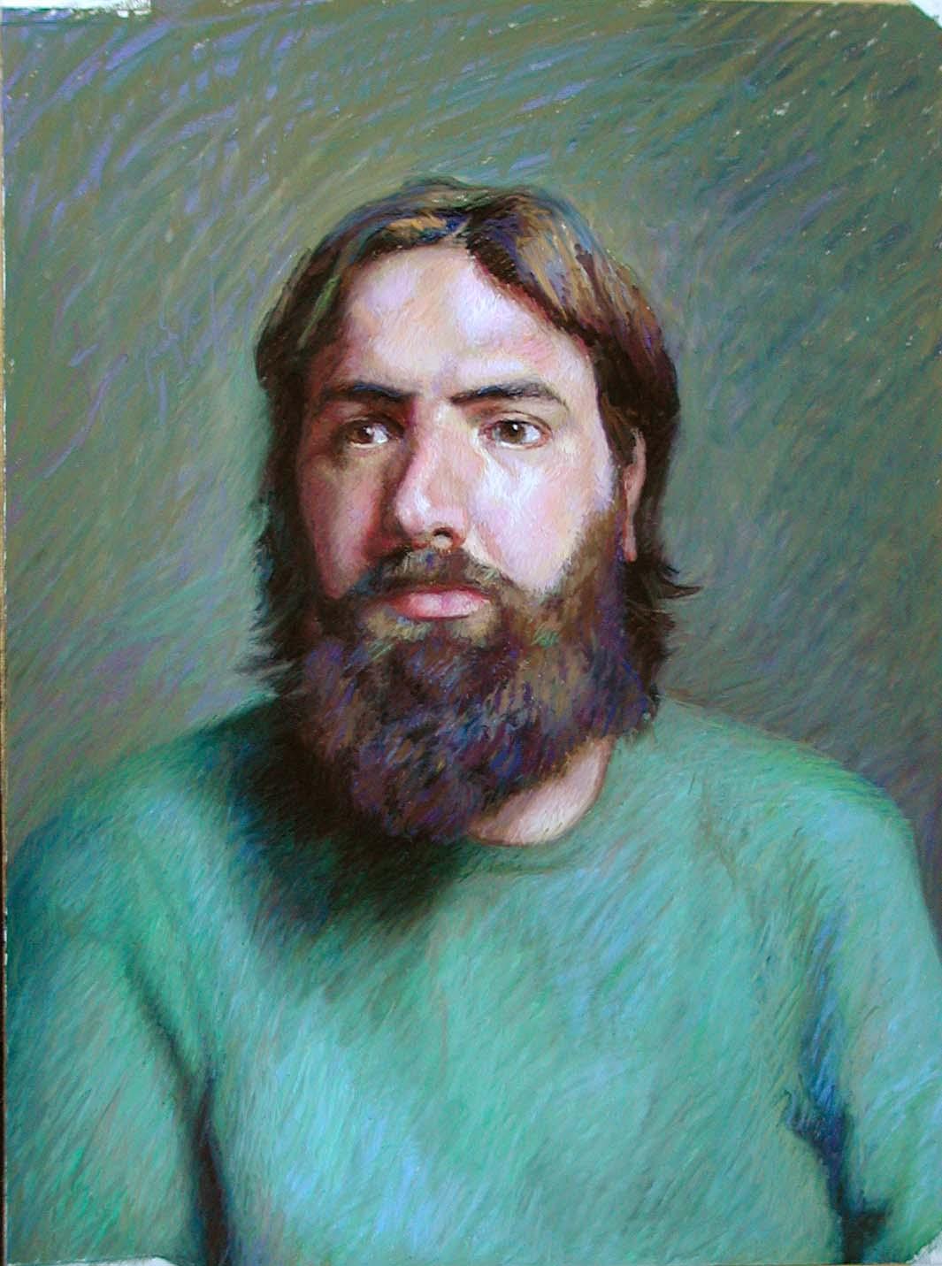 Neil | pastel painting | Jeffrey Smith