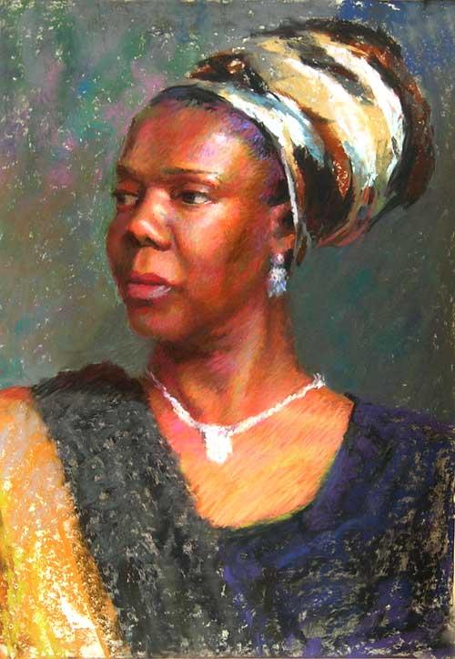 Wanda | pastel painting | Jeffrey Smith