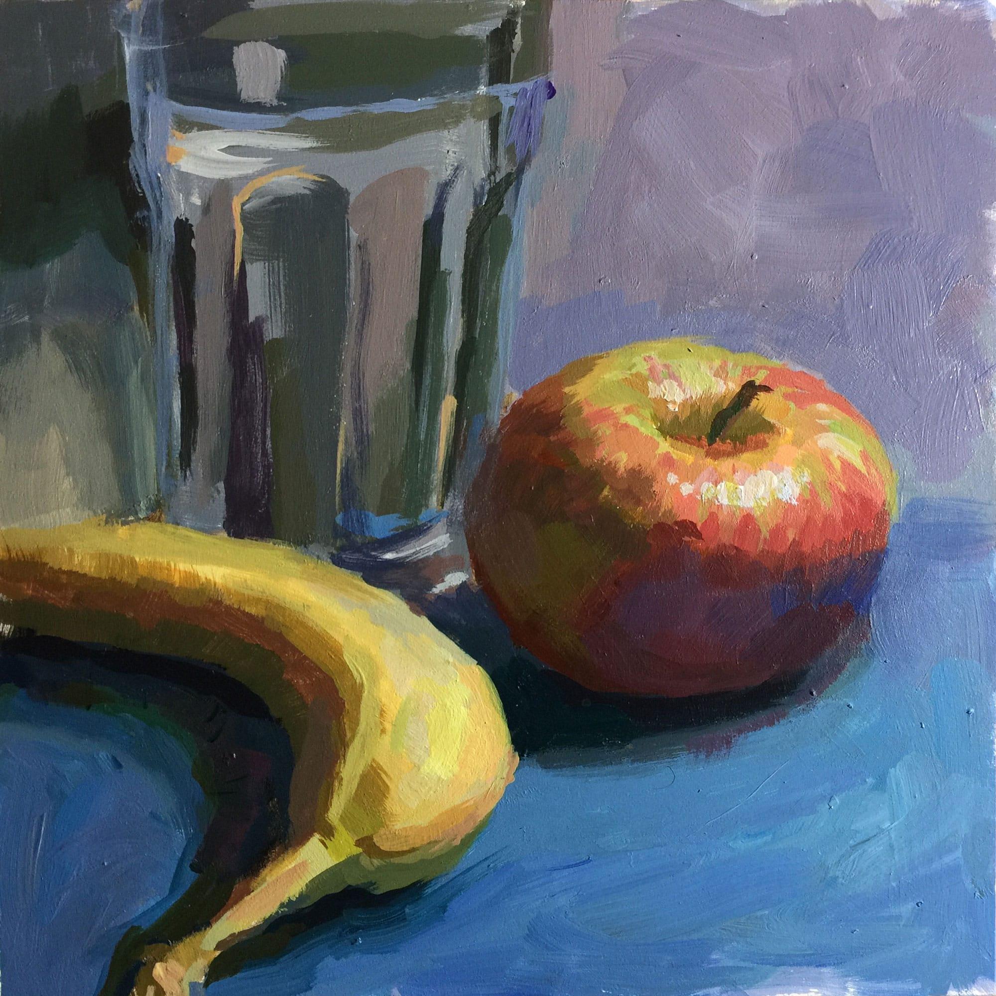 A Balanced Diet | acrylic paint by  Jeffrey Smith