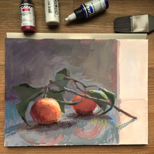 Orange Reflections | Jeffrey Smith