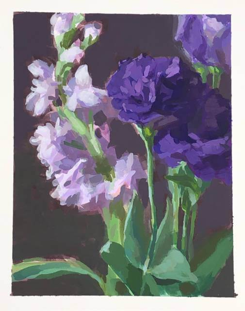 Stock and Lisianthus